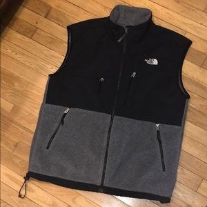 North face vest jacket sweater top shirt